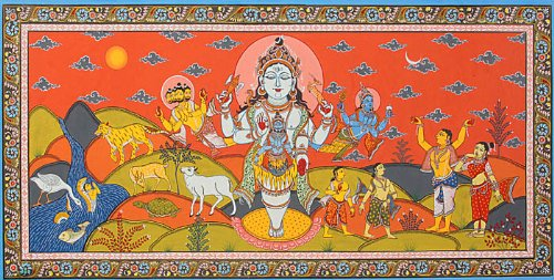 brahma-and-vishnu-on-an-errand-of-discovering-the-ends-of-the-jyotirlinga-illustration-to-the-shiva