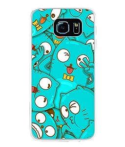 PrintVisa Designer Back Case Cover for Samsung Galaxy S6 G920I :: Samsung Galaxy S6 G9200 G9208 G9208/Ss G9209 G920A G920F G920Fd G920S G920T (Pet Love Kittens)