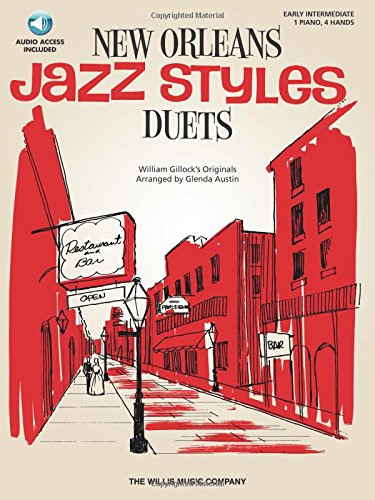 New Orleans Jazz Styles Duets - Book/Online Audio: National Federation of Music Clubs 2014-2016 Selection Early Intermediate Level [With CD/DVD]