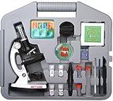 NECTARIS Biotar 900x Junior Mikroskop Schüler und Kinder Lern Set 28-teilig