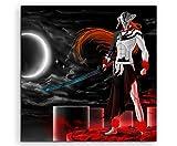 Toile Ichigo _ Vasto _ Lorde _ Bleach _ 60x 60cm Image en schoener Reproduction sur toile véritable comme toile sur châssis