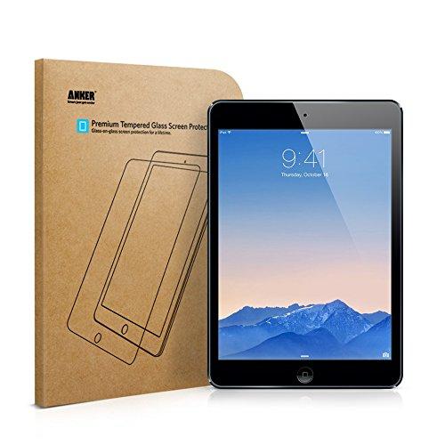 """iPad Air Panzerglas Schutzfolie, Anker Premium Hartglas Displayschutz für iPad Air/ iPad Air 2 / iPad Pro 9.7\"""" / New iPad 9.7\"""" (2017) / iPad 9.7\"""" (2018) mit einer Härte von 9H und Einfacher Anbringung"""