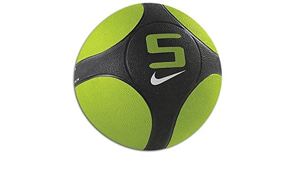 48a15c3619794 Nike Sparq Power Ball Medicine Ball 5 kg Atomic green black Size MISC   Amazon.co.uk  Sports   Outdoors