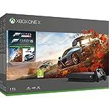 Xbox One X 1TB console Forza Horizon 4 + Forza Motorsport 7 bundle [Edizione: Regno Unito]