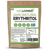 Eritritol 100 % natural 2 kg | Granulado sustituto del azúcar con cero calorías ...