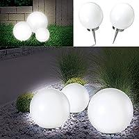 ProBache - Lampe boule 15 cm led solaire X2