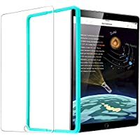 ESR iPad 2018 Screen Protector/The New iPad Screen Protector, [Easy Installation Frame], Tempered Glass for iPad 2018/2017/ iPad Air 2/ iPad Air/iPad Pro 9.7 / A1822