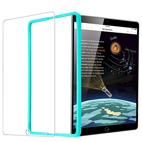 ESR Protector Pantalla iPad 2018 [Instalación Fácil] Cristal Vidrio Templado para iPad 2018/2017/iPad Air 2/iPad Air/iPad Pro 9.7/iPad 6ª/5ª Generación