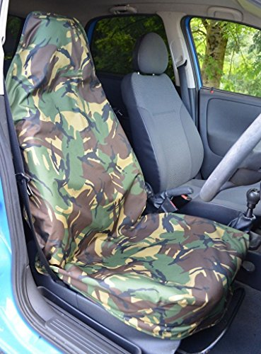 hyundai-sante-fe-06-12-single-driver-heavy-duty-camouflage-waterproof-seat-cover-protectors-green