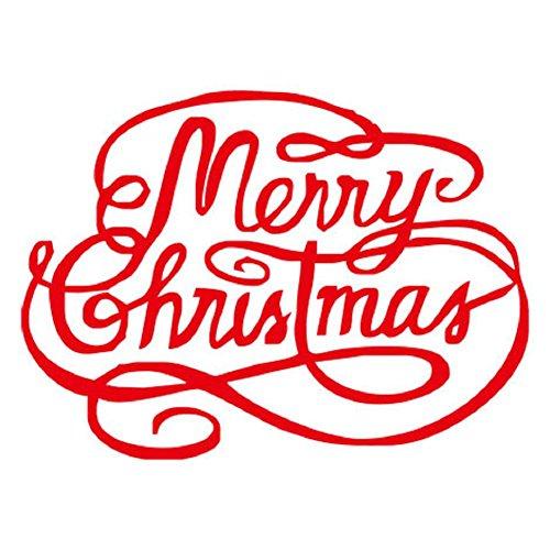 YYH Confezione da 10 unità PVC adesivi Natale decorativi adesivi vetrina Home Vetro Adesivi Wall (Amore Candela Di Unità)