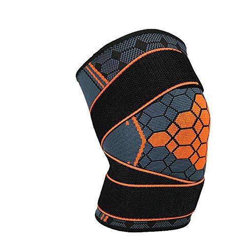 WANGYINBO Sport Kniepolster Druck Knie Unterstützung Sicherheit Schutzausrüstung Einstellbare Elastische Klammer Pad Basketball Volleyball -