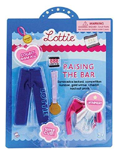 Lottie Kleidung für Puppe LT036 Raising The Bar Zubehörset - Puppen Zubehör Kleidung Puppenhaus Spieleset - ab 3 Jahren (Disney Barbie-puppen Junge)