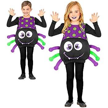Green /& Black Kids Spider Costume Luxury Handmade Spider Fancy Dress Costume