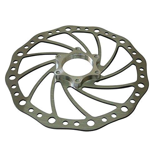 JRL acier inoxydable Vélo Frein à disque Rotor 160 mm 6bolt Style W/48 mm Flange Adaptateur