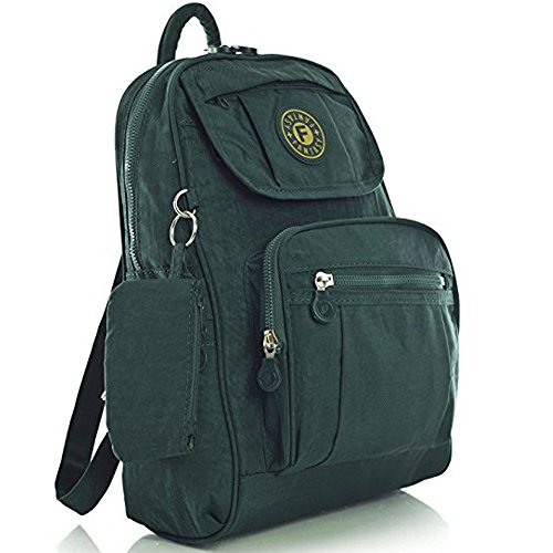 YourDezire - Borsa a Zainetto unisex adulti Dark Green/013K