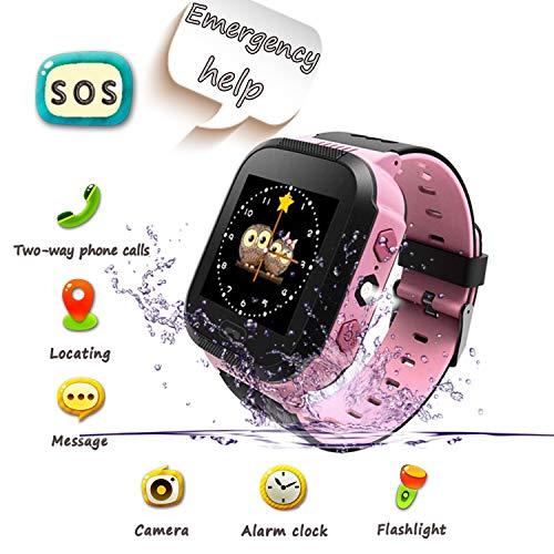 Smartwatch para Niños, Llamada de Emergencia SOS, localizador GPS, Perímetro de Seguridad,...