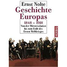 Geschichte Europas 1848 - 1918