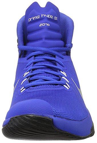 Nike Prime Hype Df 2016, Scarpe da Basket Uomo Game Royal/Reflect Silver-Black