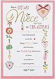 Hallmark Niece Christmas Card 'Really Special' - Medium