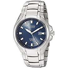 Citizen BM7170-53L - Reloj para hombre, correa de titanio color plateado