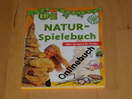 Natur-Spielebuch mit über 190 Spiele für Kinder