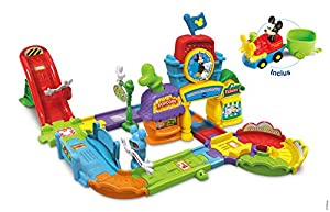 VTech Tut Tut Bolides Le Circuit Train interactif de Mickey Niño/niña - Juegos educativos (AAA, 475 mm, 133 mm, 330 mm, 3,72 kg)