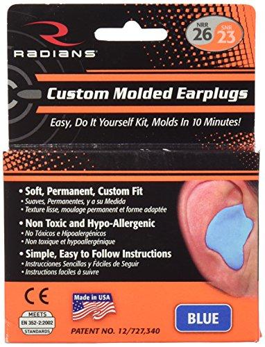 Radians Ohrstöpsel-Schutz für die Ohren, Unisex, blau