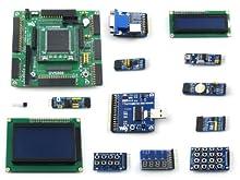 Waveshare XILINX Spartan-3E XC3S500E XILINX FPGA Development Board + LCD1602 + LCD12864 + 11 Accessory Kits