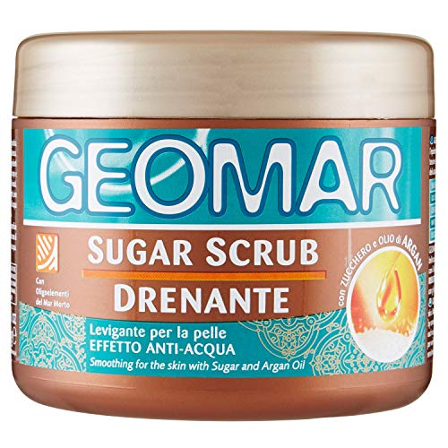 sugar scrub drenante 600 g,