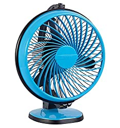 Luminous Multipurpose Buddy 230mm Cabin Fan (Aqua Blue)