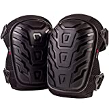 NoCry Professional Knee Pads with Heavy Duty Foam Padding and Comfortable Gel Cushion, Strong Double Straps and Adjustable Easy-Fix Clips …