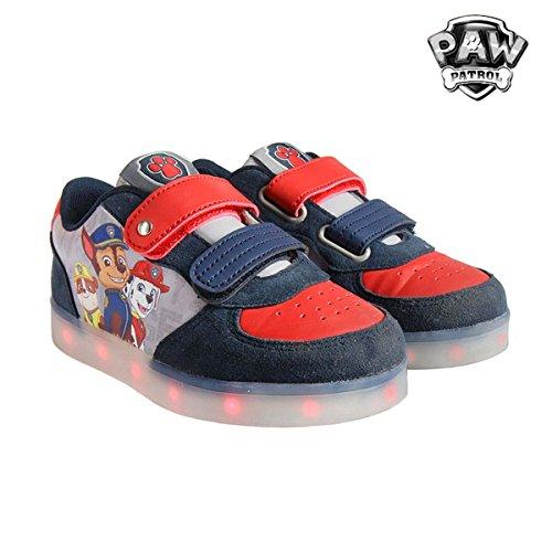 Zapatillas deportivas con luz Patrulla Canina T.25