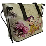 Disney Sette Nani Cucciolo Travel Borsa da Donna a Spalla Shopper Tote - Disney - amazon.it