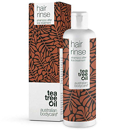 Australian Bodycare hair rinse - Läuse Shampoo für Kinder ab 3 Jahren. Das Kopfläusemittel mit natürlichem Teebaumöl ist schonend zur Kopfhaut. Anti Lice Shampoo after lice comb. 100% vegan
