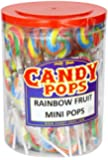 CANDY POPS Rainbow Fruit Mini Pops (Pack of 50)