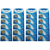 Eunicell CR2032 5004LC Lithium Blister Pack 3V 3 Volt Coin Cell Batteries (20 pcs) by Eunicell preisvergleich bei billige-tabletten.eu