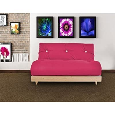 Changing Sofas Complete Double Seater Futon Sofabed, Hot Pink