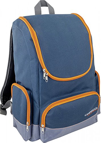 Camping Gaz Kühltasche Tropic Backpack blau/orange 20 l - Vertrieb durch - Holly® Produkte - STABIELO - INNOVATIONEN MADE in GERMANY - holly-sunshade ®