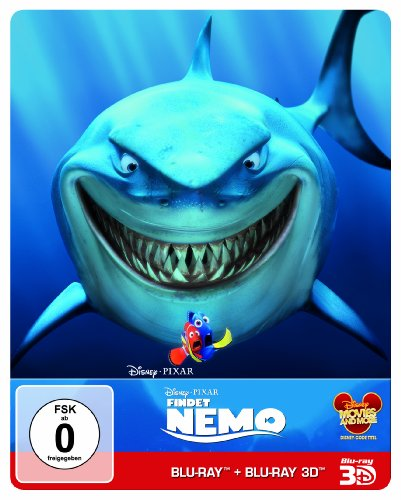 Findet Nemo (Steelbook)   [Limited Edition] [Blu-ray 3D]