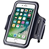 N+ INDIA Coolpad Note 5 Fancy Sports Armband, Black Gym,Running, Jogging,Walking,Hiking,Workout and Exercise Armband Holder For Coolpad Note 5 with Extra Adjustable-Length Extension Band Black