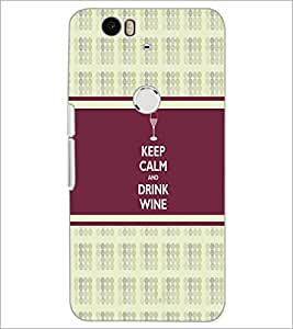PrintDhaba Quote D-2726 Back Case Cover for HUAWEI NEXUS 6P (Multi-Coloured)