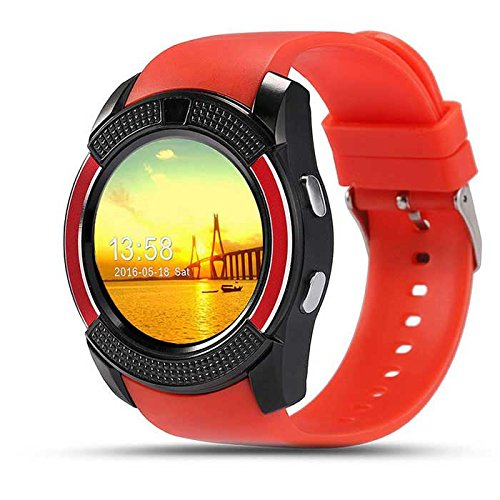 GIONEE E7 MINI Compatible Bluetooth Smartwatch With Sim & Tf Card Support With Apps Like Facebook And Whatsapp Touch Screen Multilanguage Android/Ios Mobile Phone Wrist Watch Phone With Activity Trackers And Fitness Band BY ESTARSupported Devices -BY ESTAR  available at amazon for Rs.1999