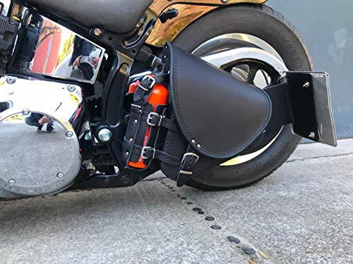 Diablo Black Schwingentasche Satteltasche Harley Davidson Softail