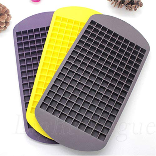 Löcher Ficony 1PC Eiswürfel 160 Löcher Gefrorene Mini Cube Silikon Eis Mould Tray Pudding Werkzeug