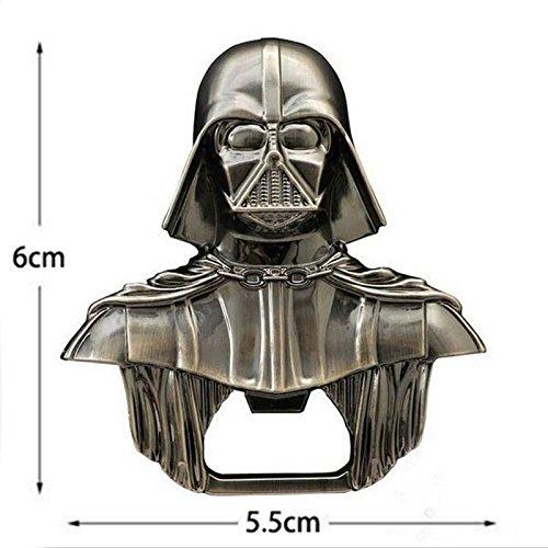 Flaschenöffner Star Wars Darth Vader aus Metall Schlüsselanhänger - Bieröffner Wein Geschenk