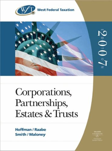 west-federal-taxation-corporations-partnerships-estates-and-trusts-professional-version-2007-with-ri
