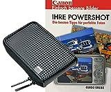 Foto Kamera Tasche Retro Case Set mit Fotobuch Ihre Canon Powershot A2500 A2600 A3500