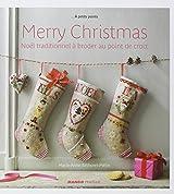 Merry Christmas : Noël traditionnel à broder au point de croix