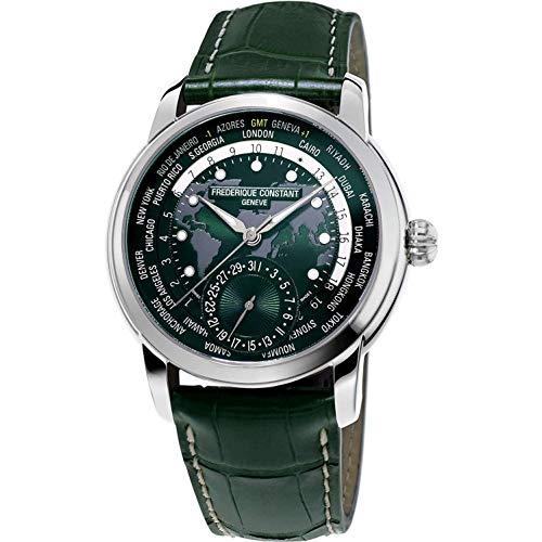Frederique Constant Geneve Classic Worldtimer FC-718GRWM4H6 Reloj Automático para Hombres