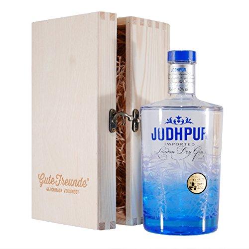 Jodhpur London Dry Gin mit Geschenk-Holzkiste